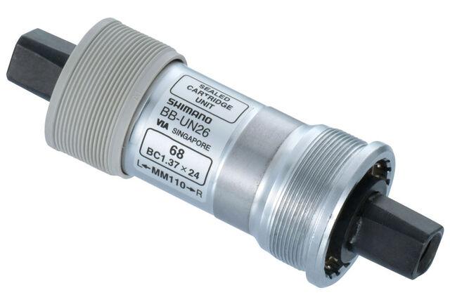 Shimano BB-UN26K Axe de pédalier 68mm BSA pour carter de